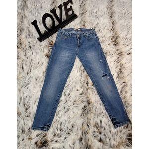 Zara Z1975 basic pants Zipper on the bottom size 8